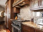 View of Master Chef's kitchen with stainless steel package in Deer Valley Penthouse - Deer Valley