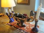 Vignette on the dining table...