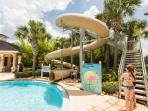 The Community Pool and Waterslide