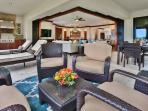 E202 Ocean Pearl True Indoor-Outdoor Living on the Covered Veranda with Partial Ocean View, Viking BBQ, Chaise Lounge...