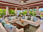 E202 Ocean Pearl True Indoor-Outdoor Living. Expansive Great Room with Partial Ocean View and new Italian Leather...
