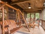 Jacob's Ridge Hideaway - A beautiful pet friendly cabin rental with scenic views near Blue Ridge
