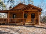 Aska Woodlands - Stay in this beautiful pet friendly cabin with fenced yard and gated porch