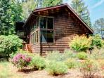 Surrounded by redwoods with a private garden & near coast!