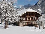 Apartment 2 Traditional Chalet Great Views Close