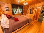 The Third Bedroom, Queen bed on main level