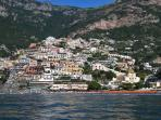 20 Positano from the sea
