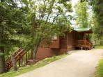 Riverside House is located in the wooded Upper Canyon with lots of wildlife.