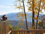 MooseHead Lodge - Mountainside Cabin with Sweeping Long Range Views Less than 15 Minutes from the Great Smoky Mountain Railroad
