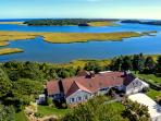 Salt Waterfront Estate, Heated Pool, Cool A/C