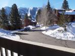 Great Mountain View from Balcony