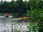 Kayaking on Clear Pond