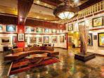 Grand Bohemian Art Gallery within the Beaver Creek Lodge boasts of over 150 works of art by local, regional and...