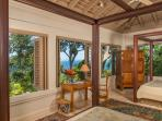 Silent Waters Villa guest suite 5 bedroom with view of the sea