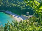 St Martins is blessed with many wonderful bays and coves.  Explore them when walking the cliff paths