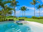 Enjoy the Ocean Front Hot Tub For Sunsets and Star Gazing!