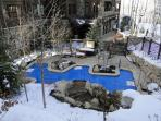 Amazing heated pool/Jacuzzi ski-in/out