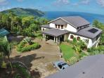 Tropical Hideaway is surrounded by lush natural forest and has the most amazing views of the bay.