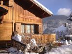 Chalet Champêtre setting in the beautiful Méribel Valley