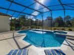 South Facing Pool backing onto conservation area
