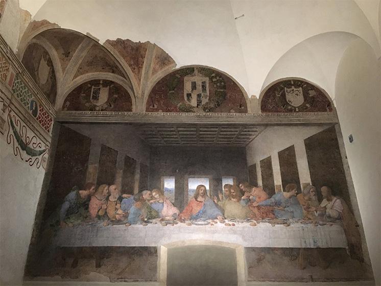 壁画 最後の晩餐