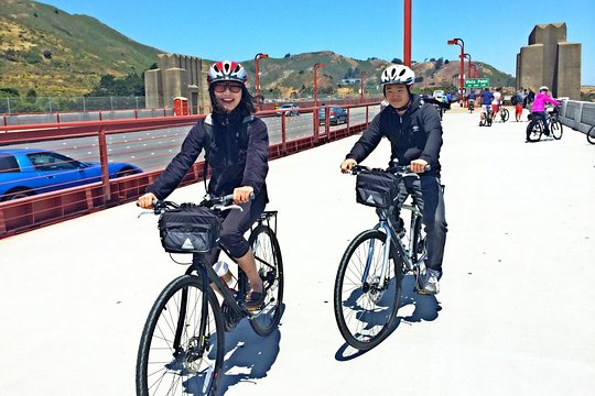 Tripadvisor サンフランシスコからレンタル自転車で行くガイドなしツアー、提供元:bike Amp View