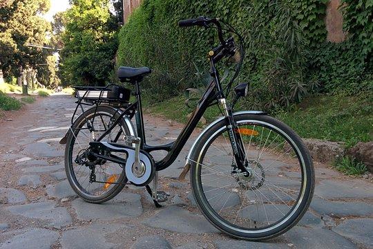 アッピア街道を自転車でツーリング
