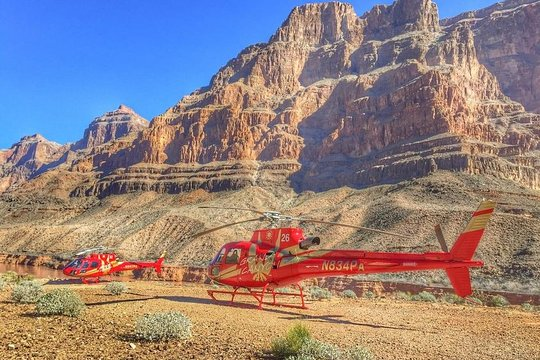 Grand Canyon West Coach Tour From Las Vegas Plus Helicopter And Boat Combo