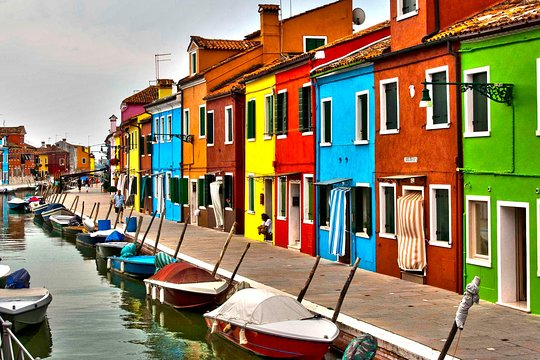 Murano To Burano.Murano Burano And Torcello Afternoon Lagoon Tour From Venice
