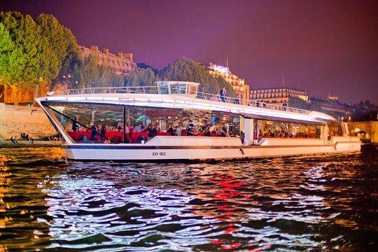 Tripadvisor Bateaux Mouches Paris Seine Early Evening