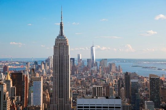 New York City Guided Sightseeing Tour By Double Decker Bus Provided
