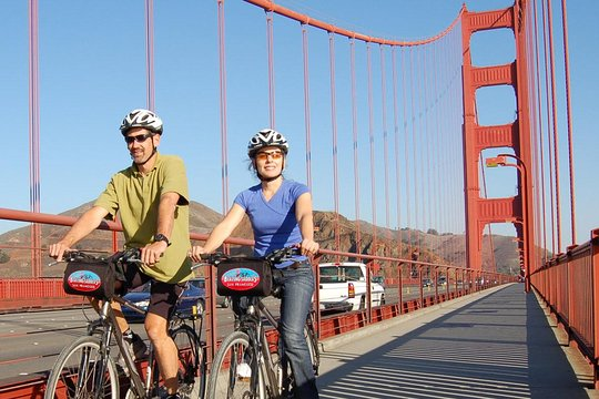 San Francisco Bike Rental From Fisherman S Wharf Or Union