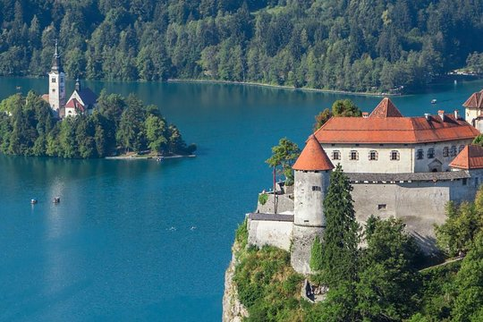 Slovenia In One Day Small Group Day Trip To Lake Bled Postojna Cave And Predjama Castle From Ljubljana