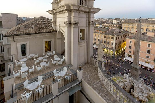 Skip The Line Open Air Opera Concert W Aperitivo Overlooking Navona Square