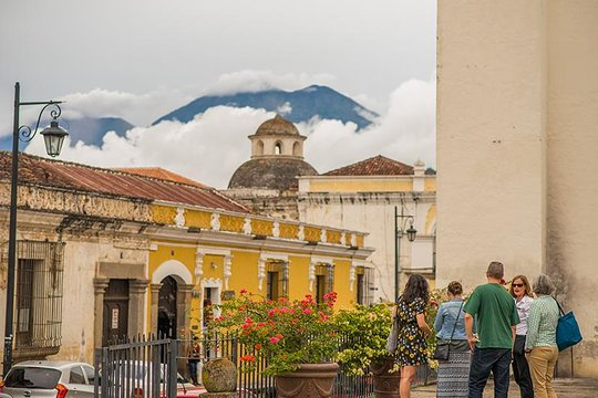 Woman Antigua Guatemala