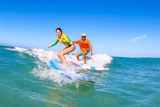 Surfing Lessons On Waikiki Beach