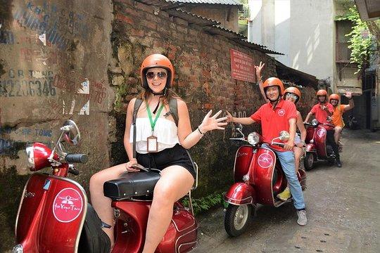 Hanoi City And Backstreets Insider Tour On Vintage Vespa