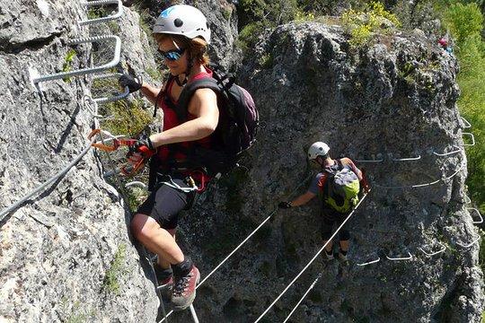 Klettersteig in Madrid