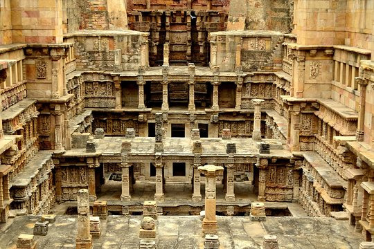 Stepwell & Temple of Patan from Ahmedabad
