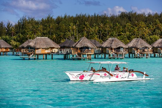 Bora Bora Island >> Bora Bora Snorkel Cruise By Polynesian Outrigger Canoe With Bbq Island Lunch