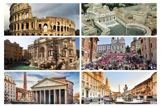 Vatican, Rome Tour: A Self-guided Pictorial Walking Tour (Visual Travel Tours Book 65)