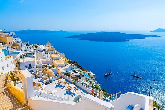 5 Day Greek Islands Tour Mykonos Santorini Delos Cruise Sunset To Volcano