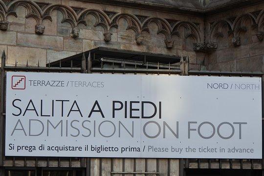 Biglietto Per Il Duomo Di Milano Terrazze E Duomo