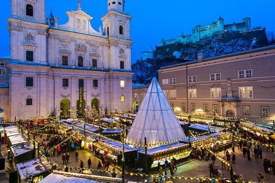 Salzburg Christmas Market.Salzburg Christmas Market Tour