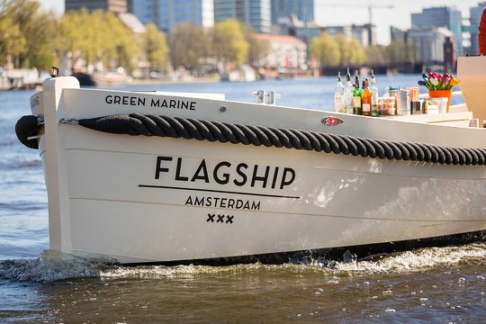 1 Hour Luxury Canal Tour Starting At Anne Frank House