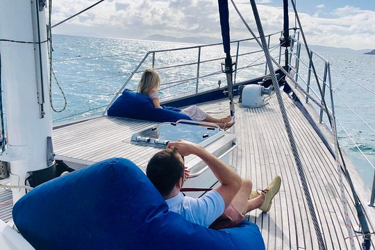 Day sail on Lux Whitsundays, Whitsundays, Australia