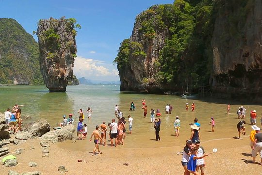 Phuket James Bond Island Sea Canoe Tour By Speedboat With Lunch