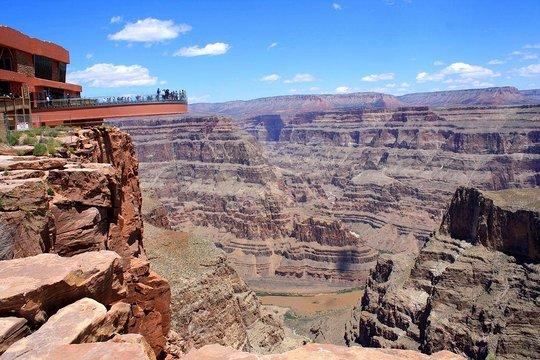 Grand Canyon West Hoover Dam Bus Tour W Optional Skywalk Helicopter Boat Ride