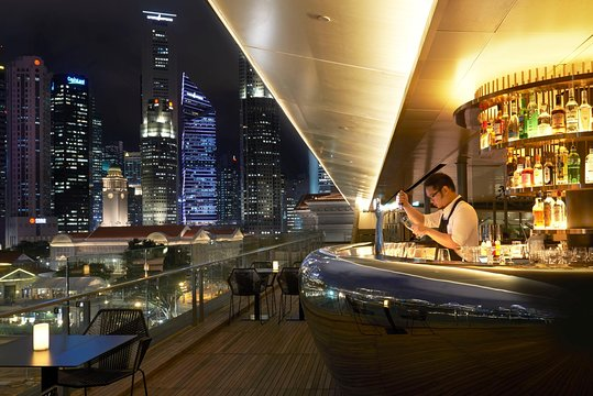 Singapore Night Signature With Dinner Shared Transfer