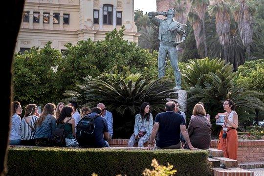 Recorrido a pie de Málaga al atardecer
